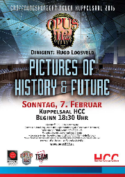 Plakat Eröffnungskonzert Neuer Kuppelsaal 2016 OPUS112